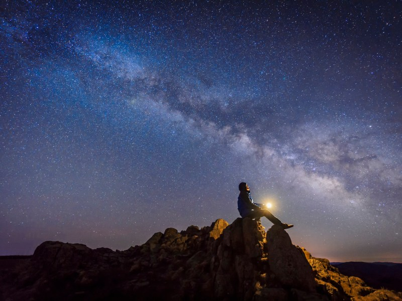 The universe as we know it. Photo: iStock