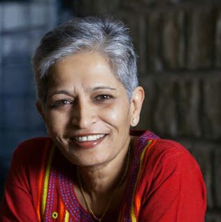 Journalist and activist Gauri Lankesh was shot dead at her home on Tuesday evening. Photo: social media