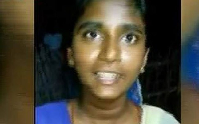 Anitha, 17, took her own life after failing to get into medical school. Photo: indiatoday