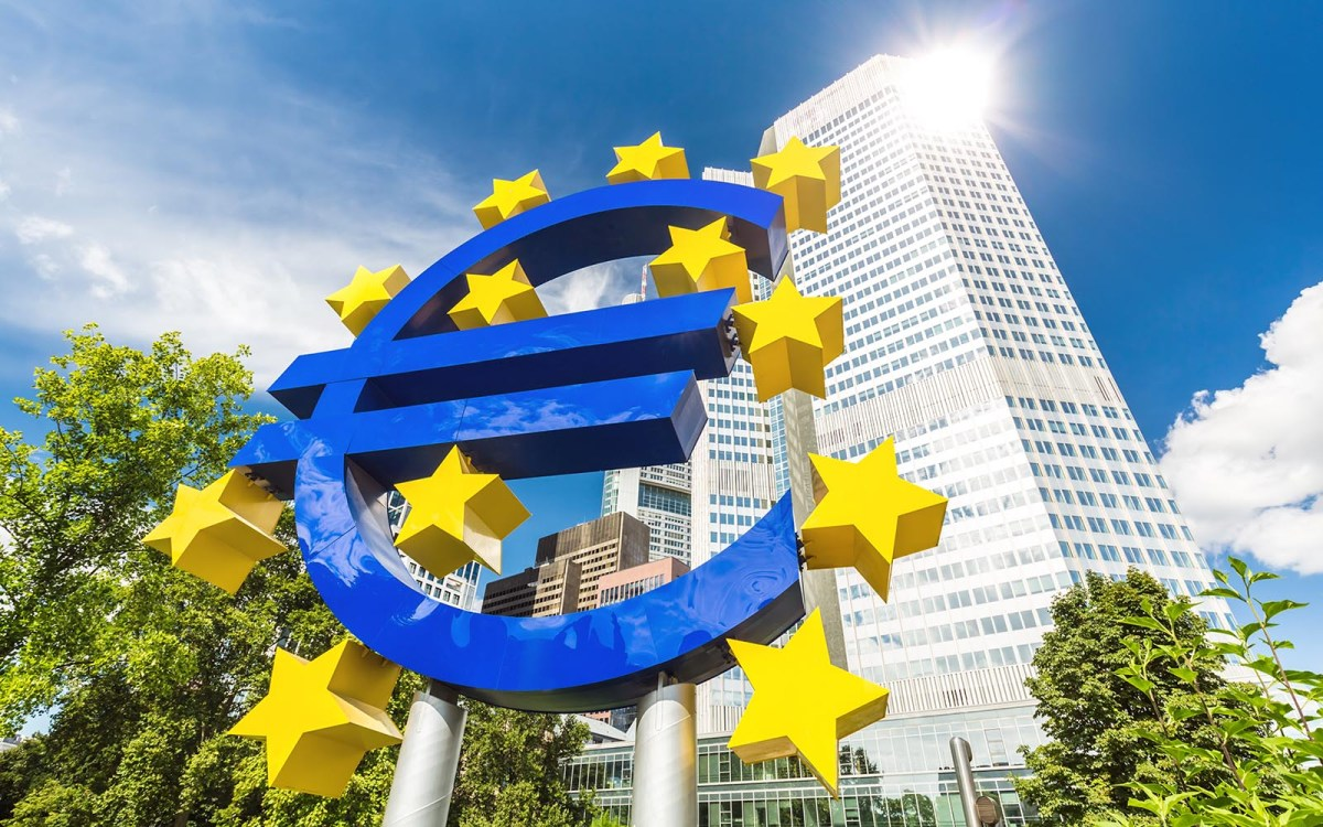The European Central Bank has concerns that 'vulnerabilities in financial markets continue to build up.'  Photo: iStock