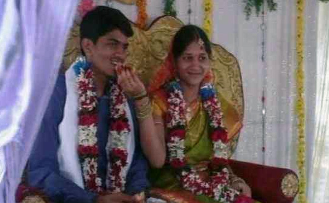 Rushi and Harika Kumar got married two years ago. Photo: NDTV
