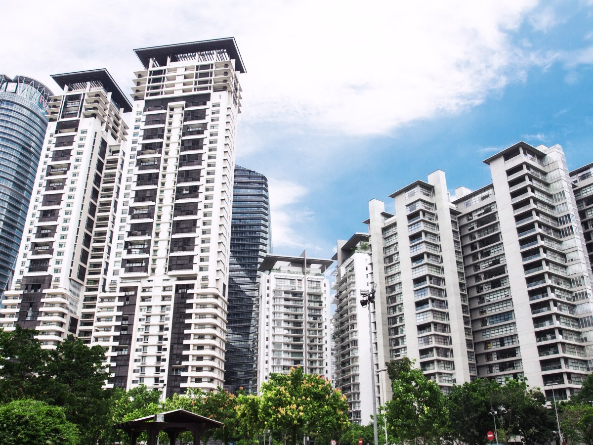 New high-rise apartment in Guangzhou, China. Photo: iStock