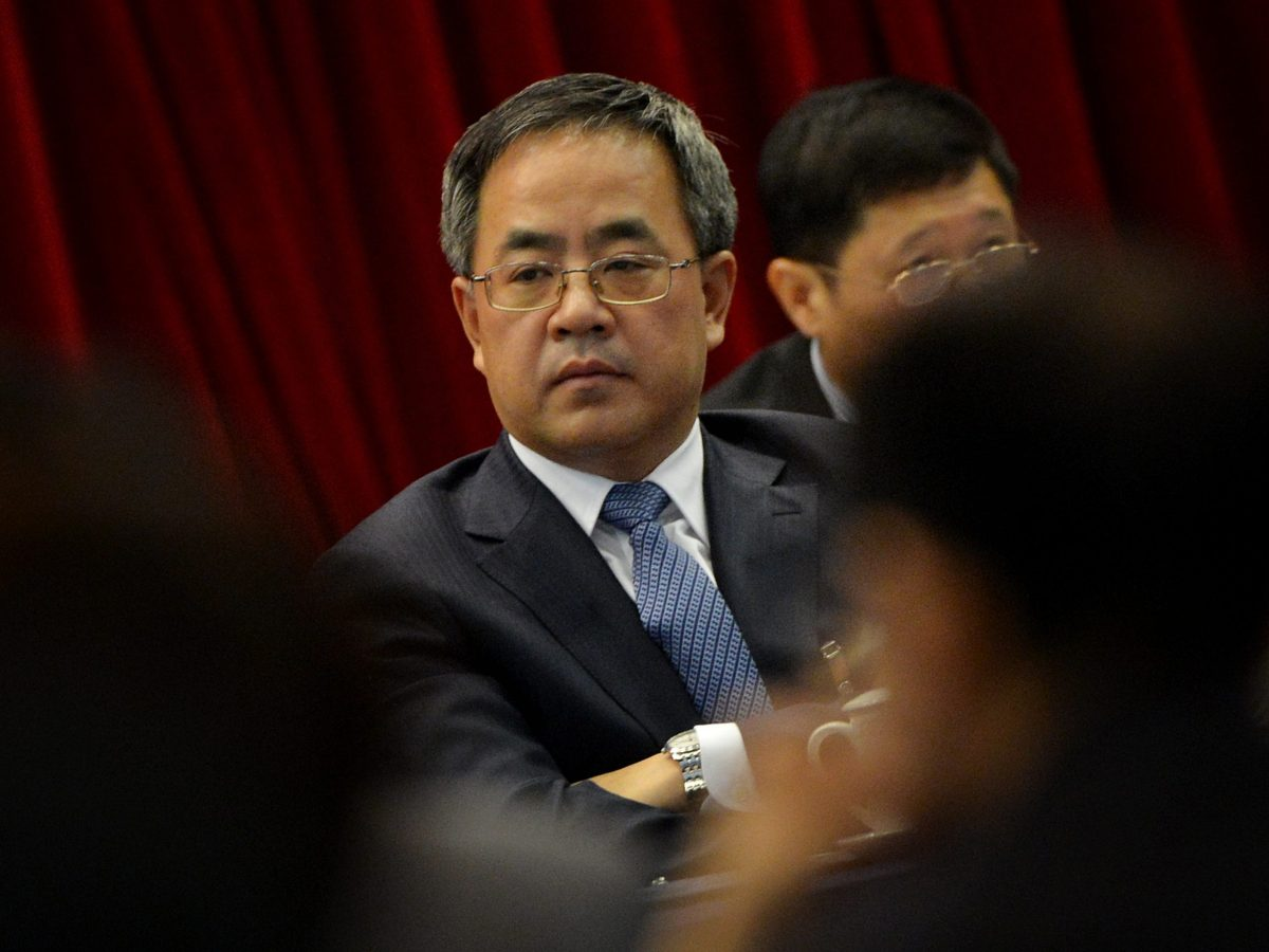 Guangdong province Communist Party Secretary Hu Chunhua. Photo: AFP / Mark Ralston