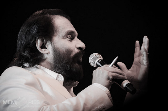 Classical Indian singer KJ Yesudas. Photo: Flickr Commons
