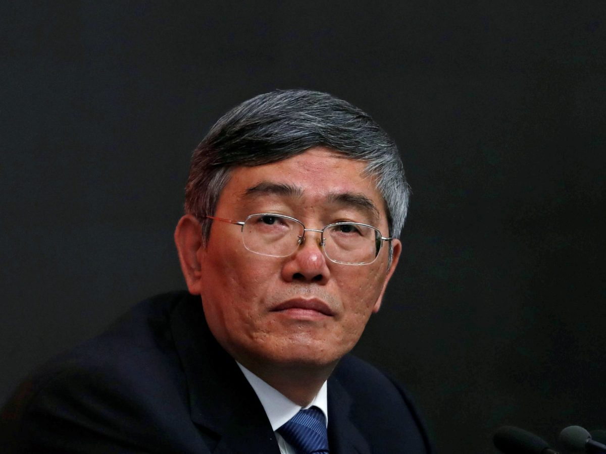 Yang Weimin, vice minister of China's Office of the Central Leading Group on Financial and Economic Affairs. Photo: Reuters / Tyrone Siu