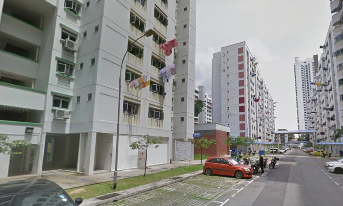 A Housing Development Board house at 31 Woodlands Street, Singapore. Photo: Google Maps