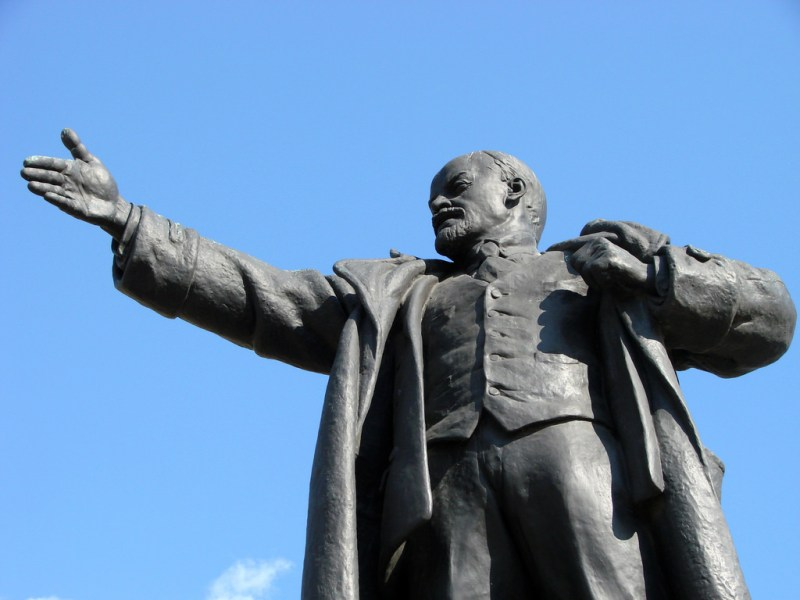The only solution for humanity, Lenin believed, would be socialist revolutions, with an end to warfare once and for all. Photo: Flickr
