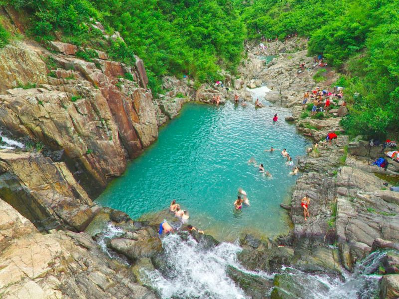 Rock Pools in Sai Kung, the New Territories. Photo: Google Maps