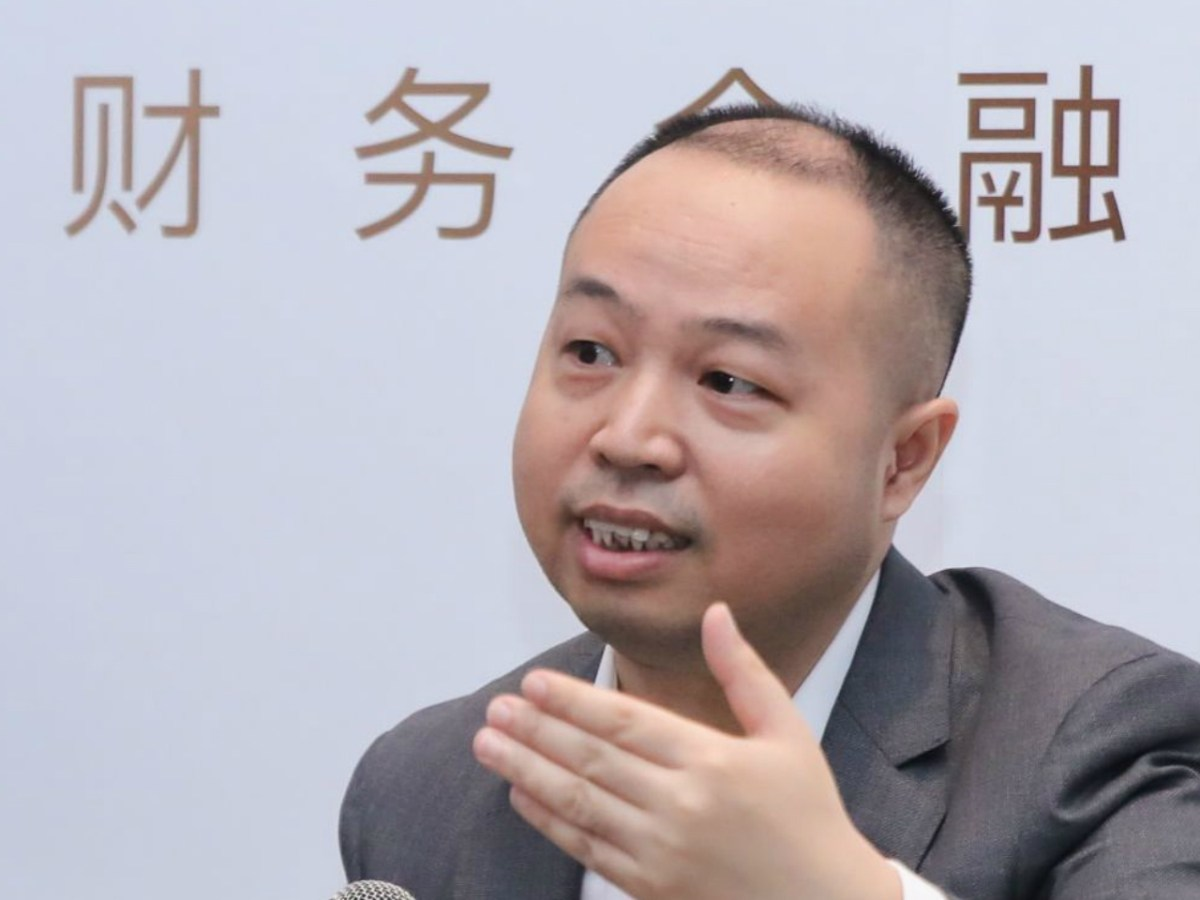 Gu Feng, founder and chief executive of Suishou Technology Photo: feidee.com
