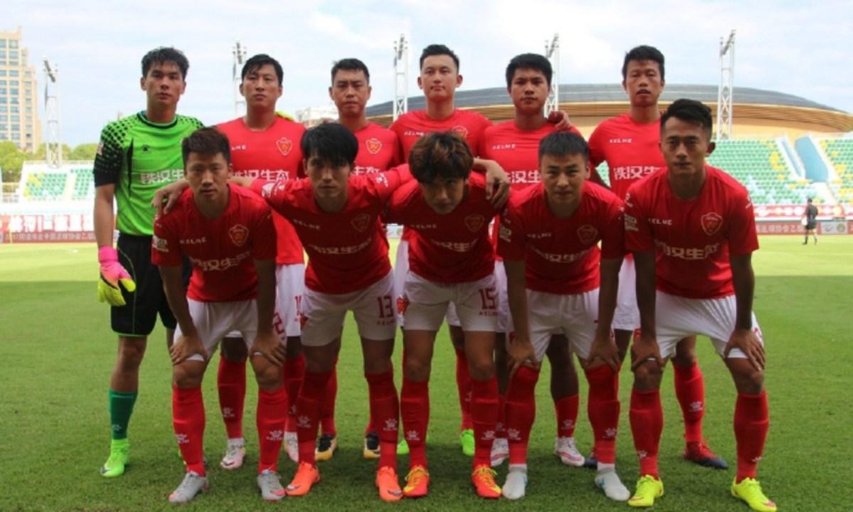 Meizhou Meixian Techand FC. Photo: Weibo