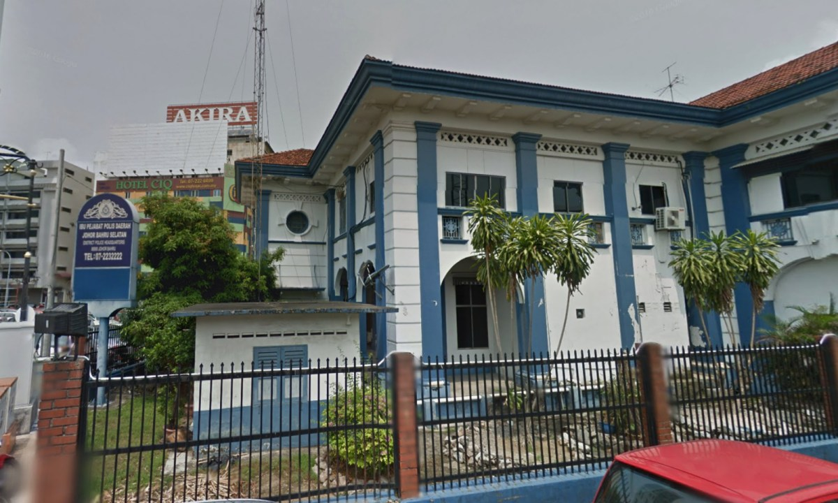 District Police Headquarters, South Johor Bahru, Malaysia. Photo: Google Maps