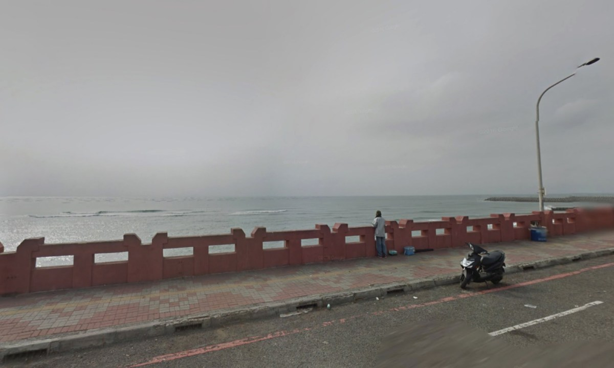 Anping, Tainan, near where the last crewman was picked up by a fishing boat. Photo: Google Maps