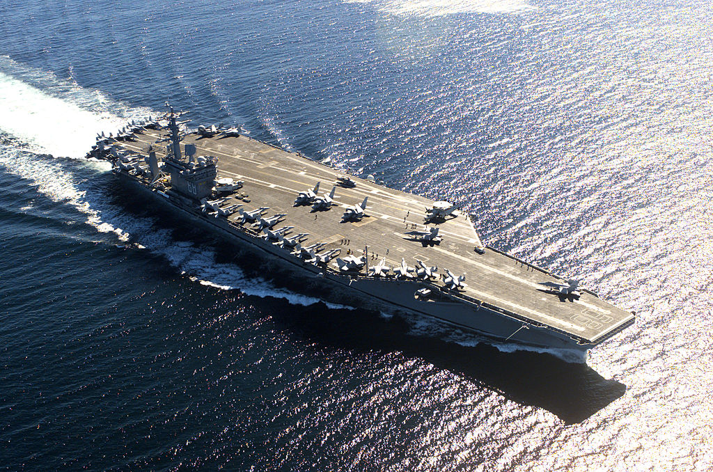 The USS Nimitz aircraft carrier. Photo: Wikipedia