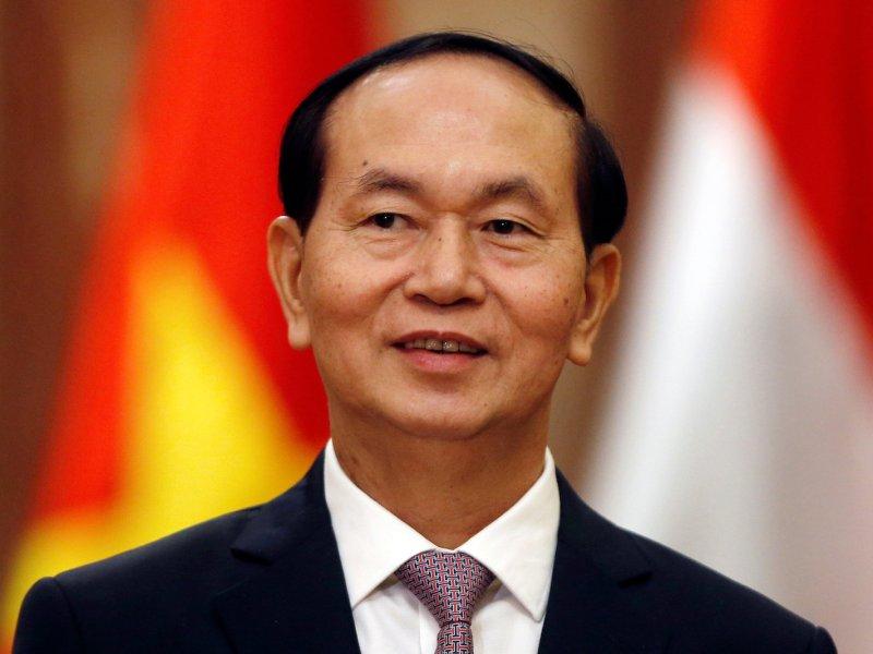 Vietnamese President Tran Dai Quang. Photo: Reuters