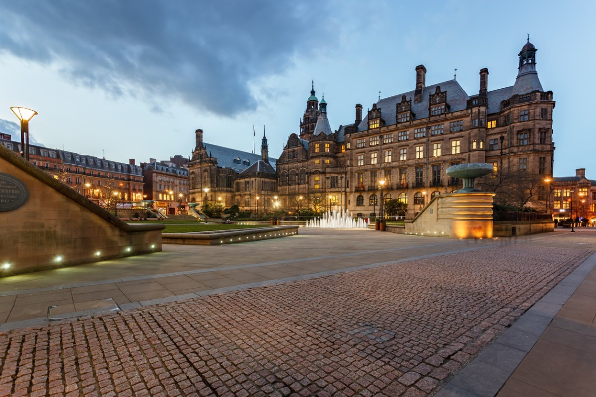 "Sheffield Town Hall, from where the city council last year boasted of a landmark deal that would benefit ""future generations."" It is now less happy to talk about its partnership with Chinese businessman Wang Chunming. Photo: iStock / Getty"