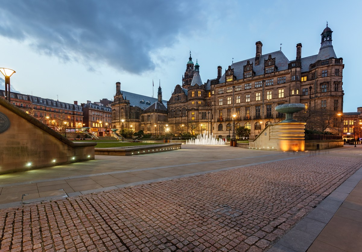 """Sheffield Town Hall, from where the city council last year boasted of a landmark deal that would benefit """"future generations."""" It is now less happy to talk about its partnership with Chinese businessman Wang Chunming. Photo: iStock / Getty"""
