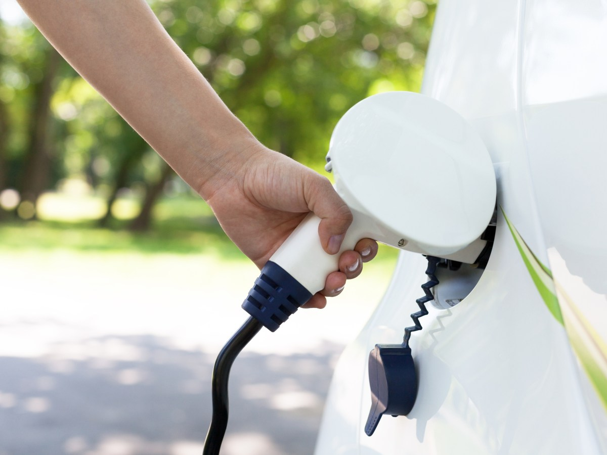 Charging battery of an electric car. Photo: iStock
