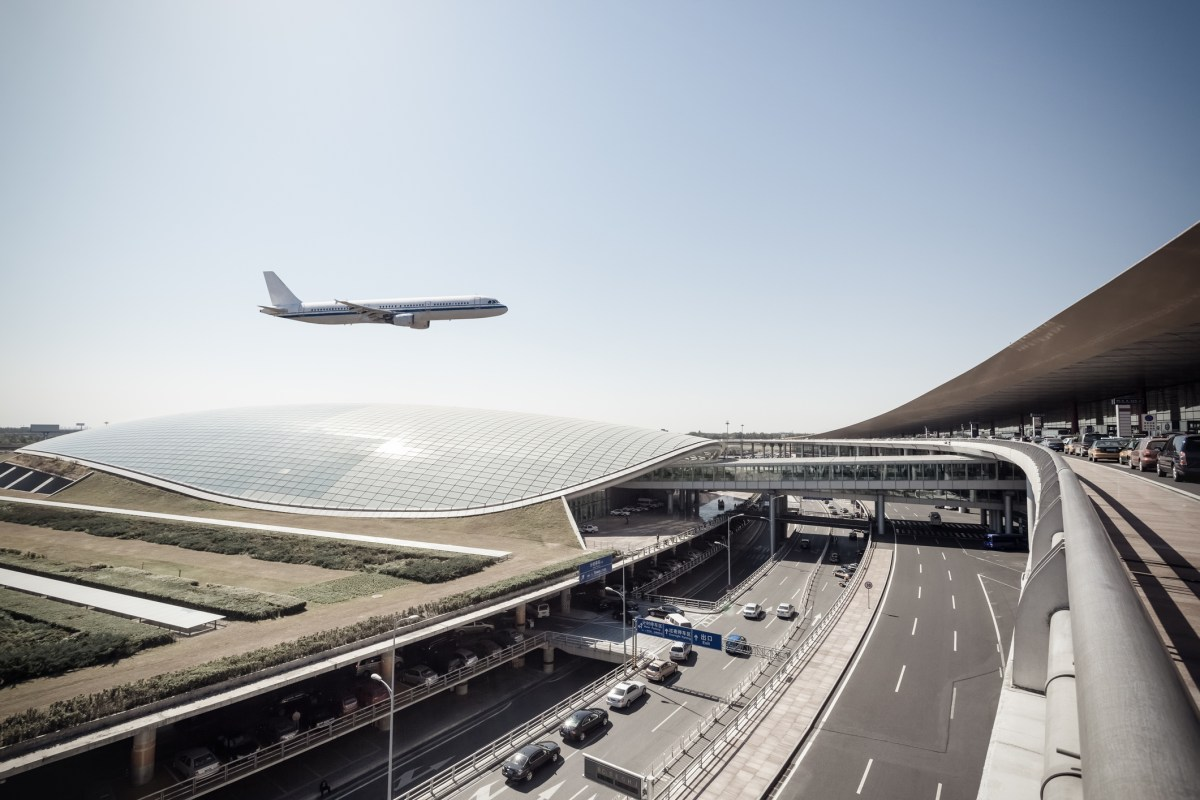 Beijing capital airport, scene of the flight arrival. Photo: iStock