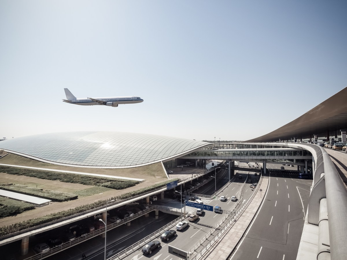 Beijing capital airport, scene of the flight arrival. Photo: iStock