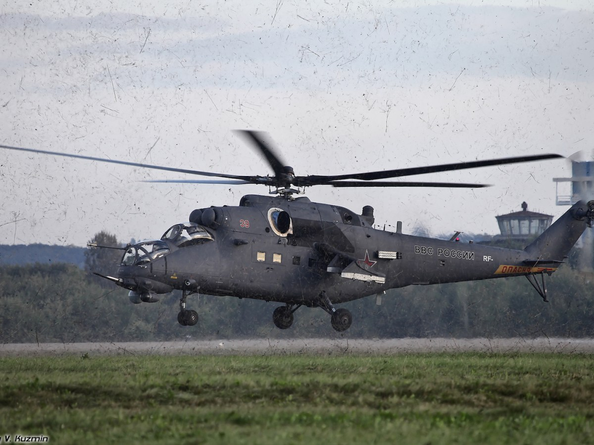 Over India's strong opposition, Russia delivered four Mi-35M assault helicopters to Pakistan this year. Moscow lifted its embargo on arms sales to Pakistan in 2014 and is currently engaged in a delicate diplomatic balancing act between the two rival south Asian countries.Photo: Wikimedia Commons/Vitaly V. Kuzmin.