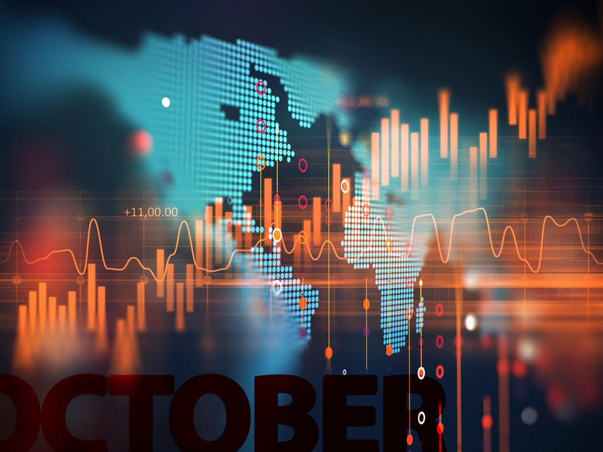 October is traditionally a rocky month for global markets. Photo illustration: iPhoto