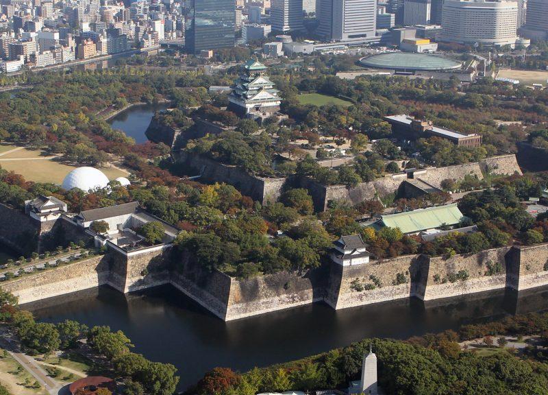 2014年拍摄的大阪市 相片:The Yomiuri Shimbun