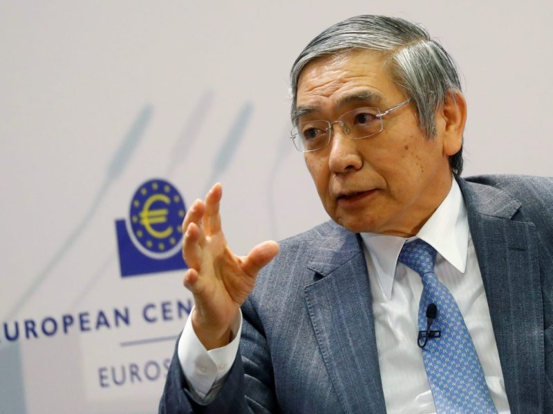 Bank of Japan Governor Haruhiko Kuroda is also be the country's leading hedge fund manager? Photo: Reuters/