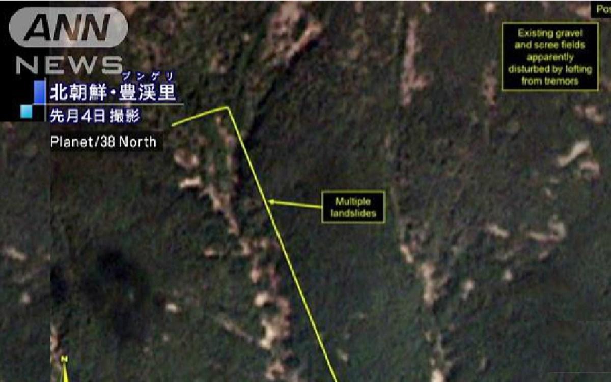 Source: 38 North/Asahi TV screen grab