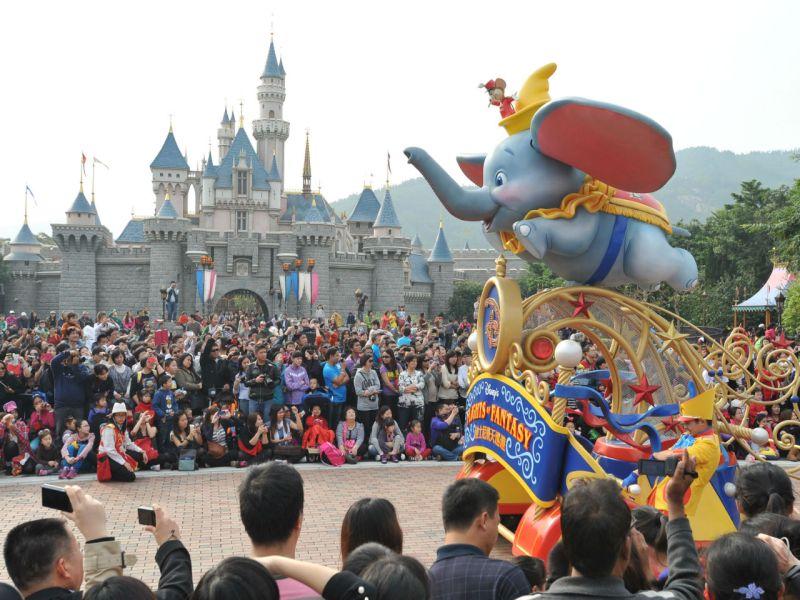 Hong Kong Disneyland, Lantau Island.Photo: HK Government