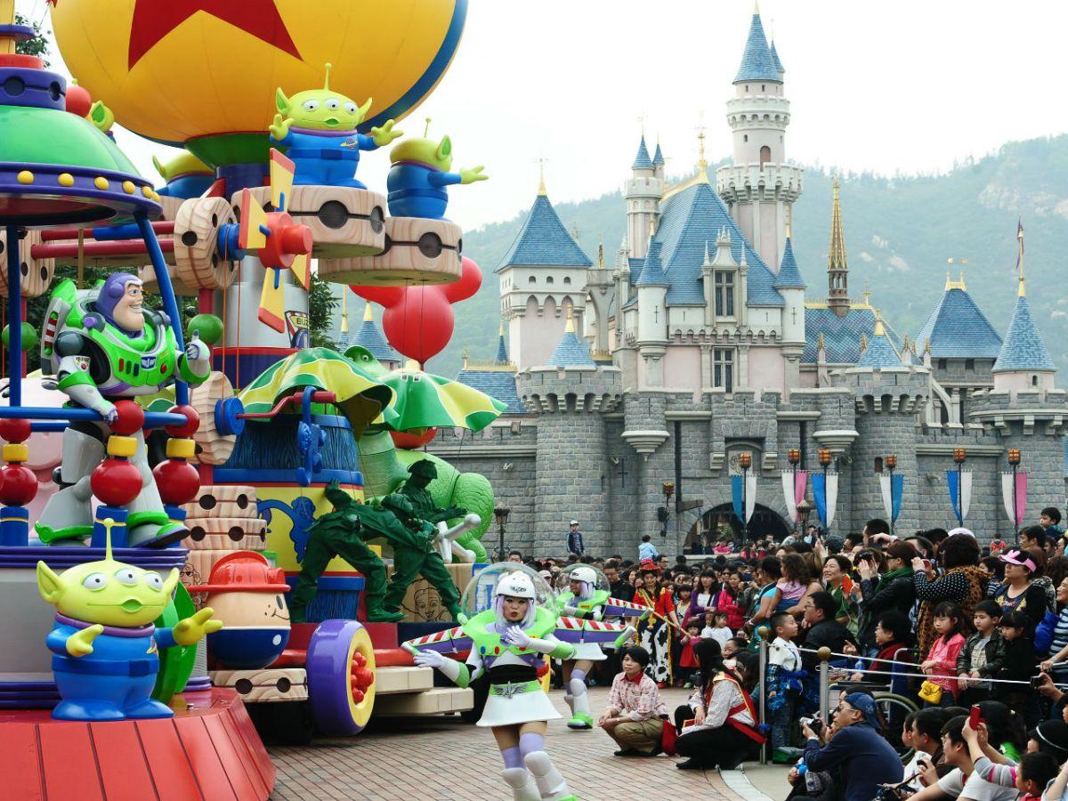 Hong Kong Disneyland.Photo: HK Government
