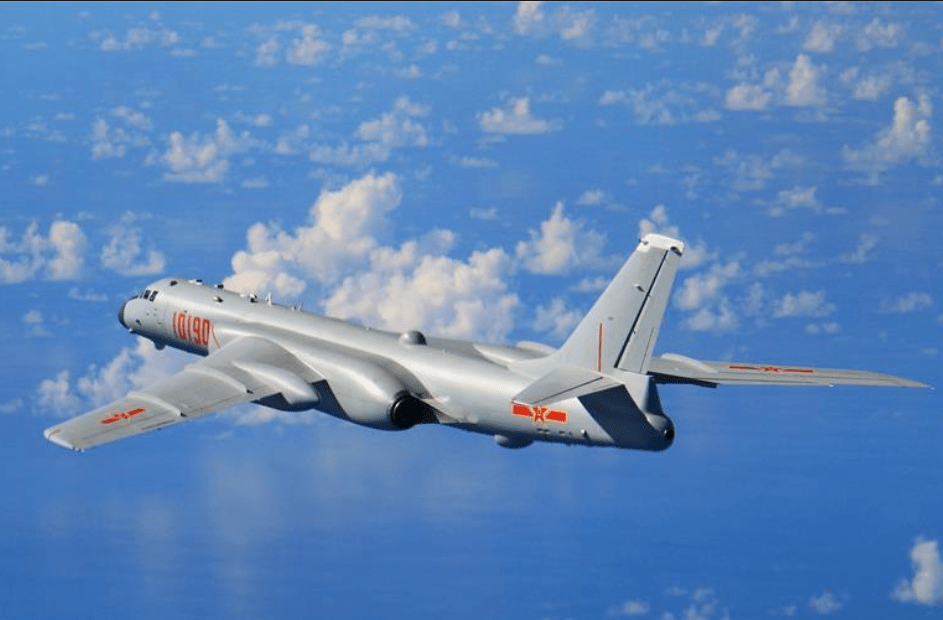 A People's Liberation Army Air Force H-6K strategic bomber. Photo: Xinhua