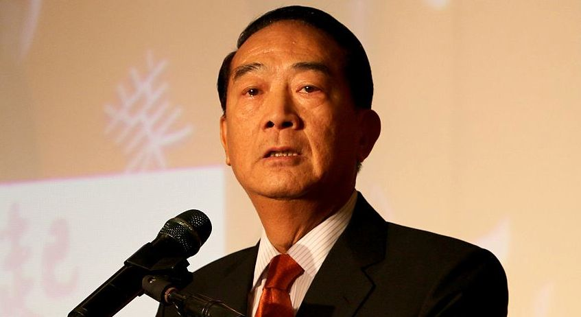 Senior political leader James Soong will represent Taiwan at this week's APEC leaders summit in Vietnam. There are unconfirmed reports that Soong will meet with Chinese President Xi Jinping during the summit to discuss Taiwan's relations with China. Photo: Wikimedia Commons/Yang Ming