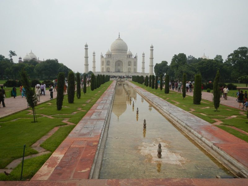 A spectacular view of the Taj Mahal, which has been at the center of a political row. Photo: Wikimedia Commons