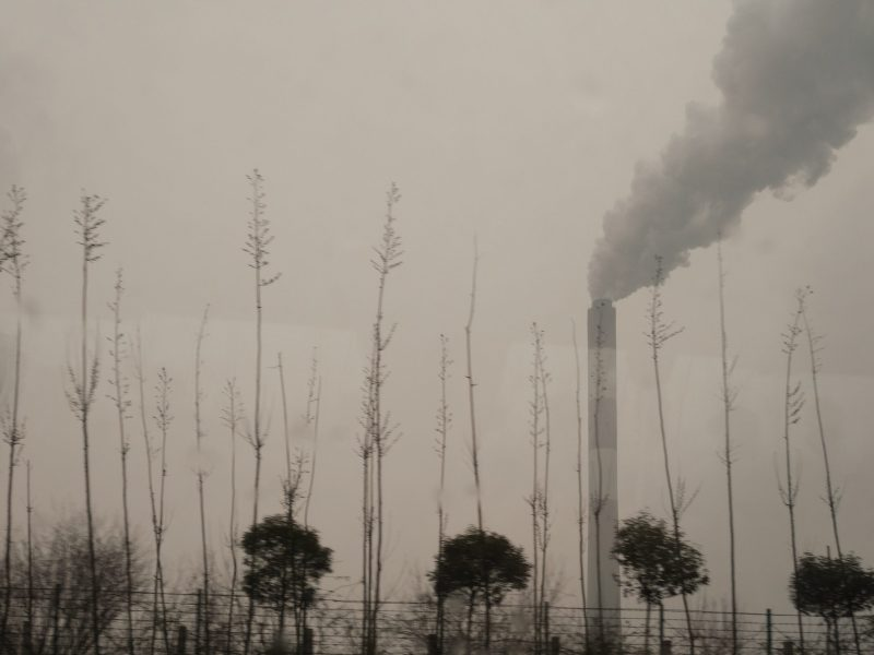 Pollution from Chinese plants. Photo: iStock