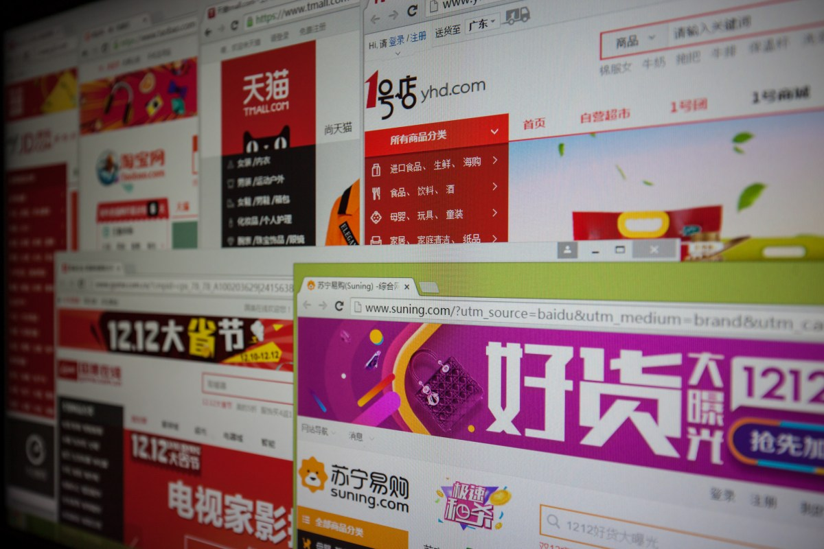 With Electronic Business developing rapidly, most people visiting Chinese online shopping websites demonstrated on computer screen. Today many main Chinese online shops  fight each other in order to takes the larger proportion of the market. Photo: iStock