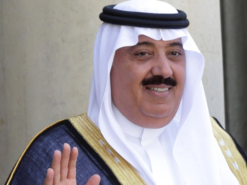 Prince Miteb bin Abdullah. Photo: Reuters / Philippe Wojazer