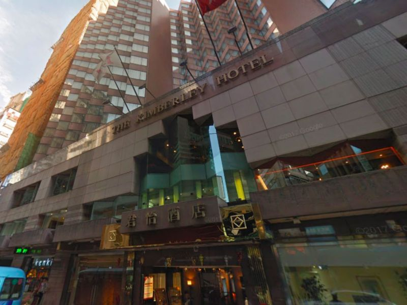 The Kimberley Hotel in Tsim Sha Tsui, Kowloon. Photo: Google Maps