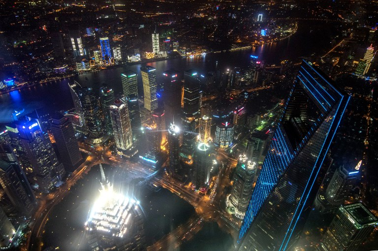 View of Shanghai. Photo: AFP