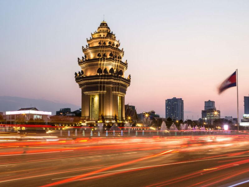 The Independence Monument in Phnom Penh, the capital of Cambodia. The country is home to a thriving pan-regional online gaming industry. Photo: IStockphoto
