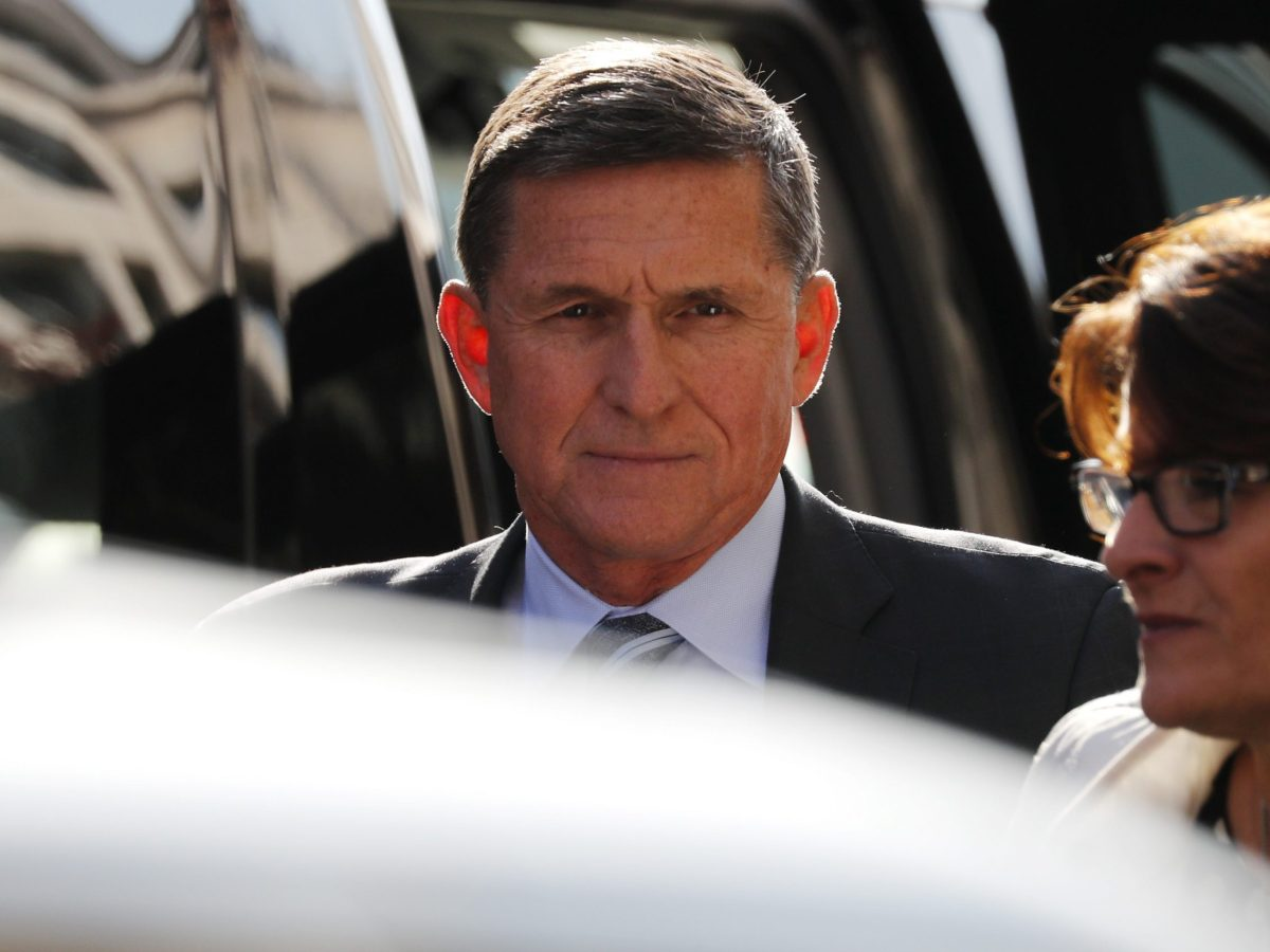 Former U.S. National Security Adviser Michael Flynn arrives for a plea hearing at U.S. District Court, where he's expected to plead guilty to lying to the FBI about his contacts with Russia's ambassador to the United States, in Washington, U.S., December 1, 2017. Photo: Reuters / Jonathan Ernst