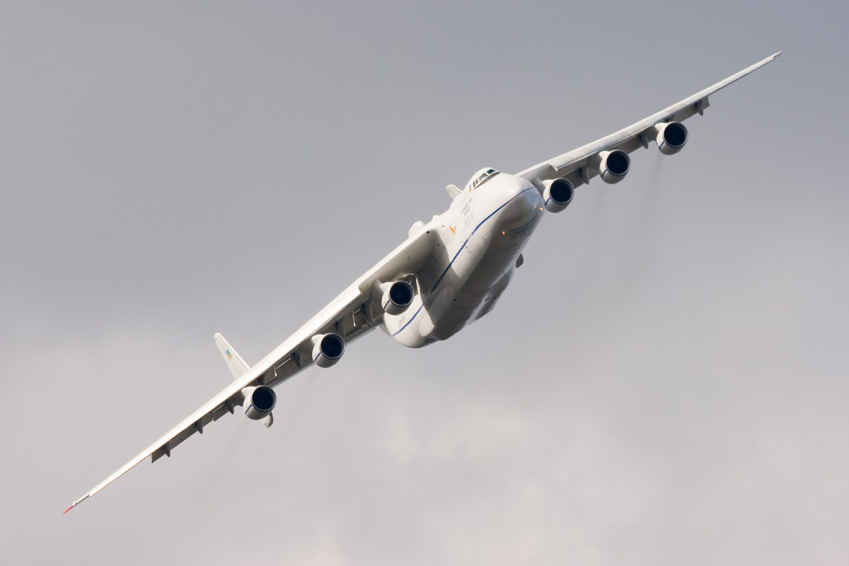 There is just one An-225 cargo plane in service. Photo: Dmitry A. Mottl/WikiMedia