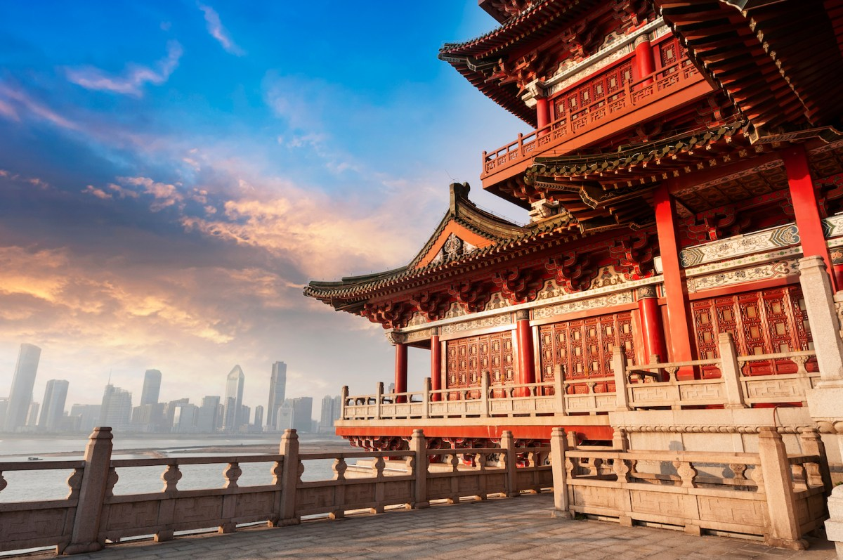 Ancient Chinese architecture. Photo: iStock