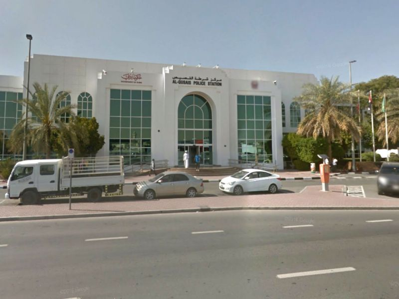 The maid went to Al Qusais Police Station to file a complaint. Photo: Google Maps