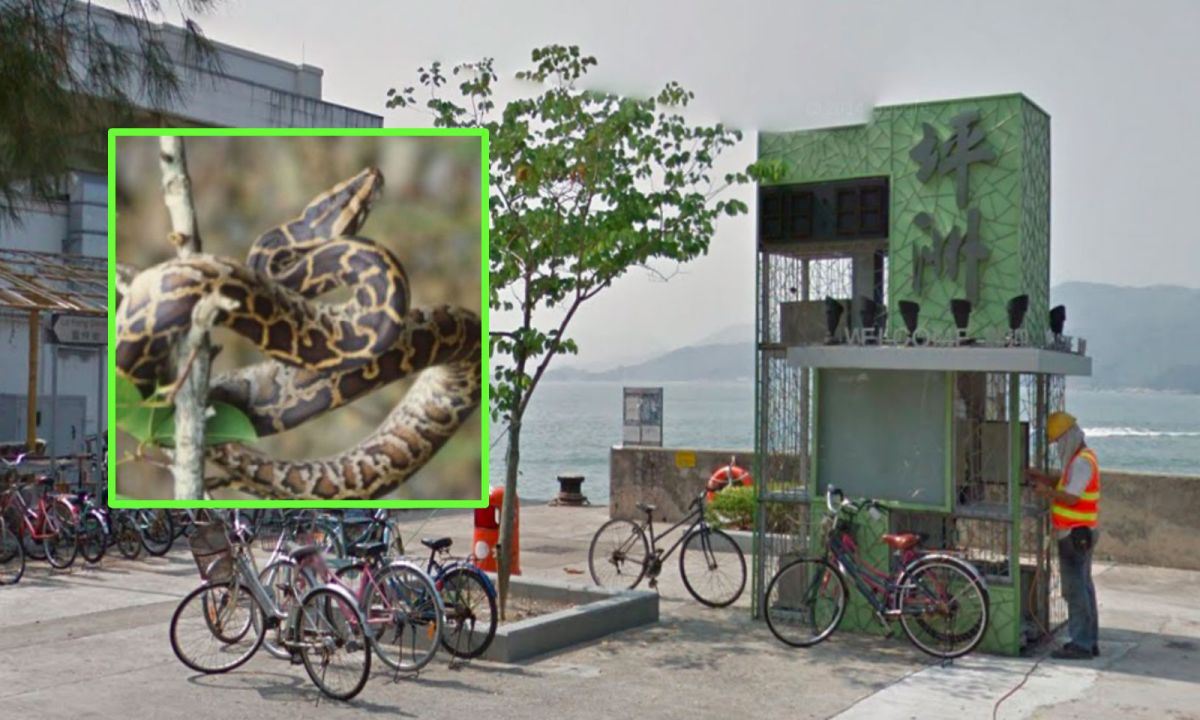 Peng Chau. Photos: Google Maps, Hong Kong Government