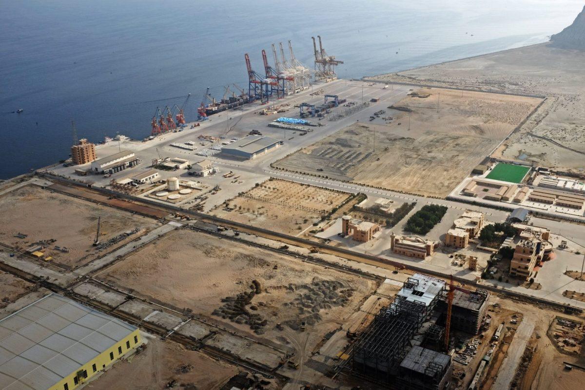 A general view of Gwadar port in Pakistan taken on October 4, 2017. Photo: Reuters/Drazen Jorgic