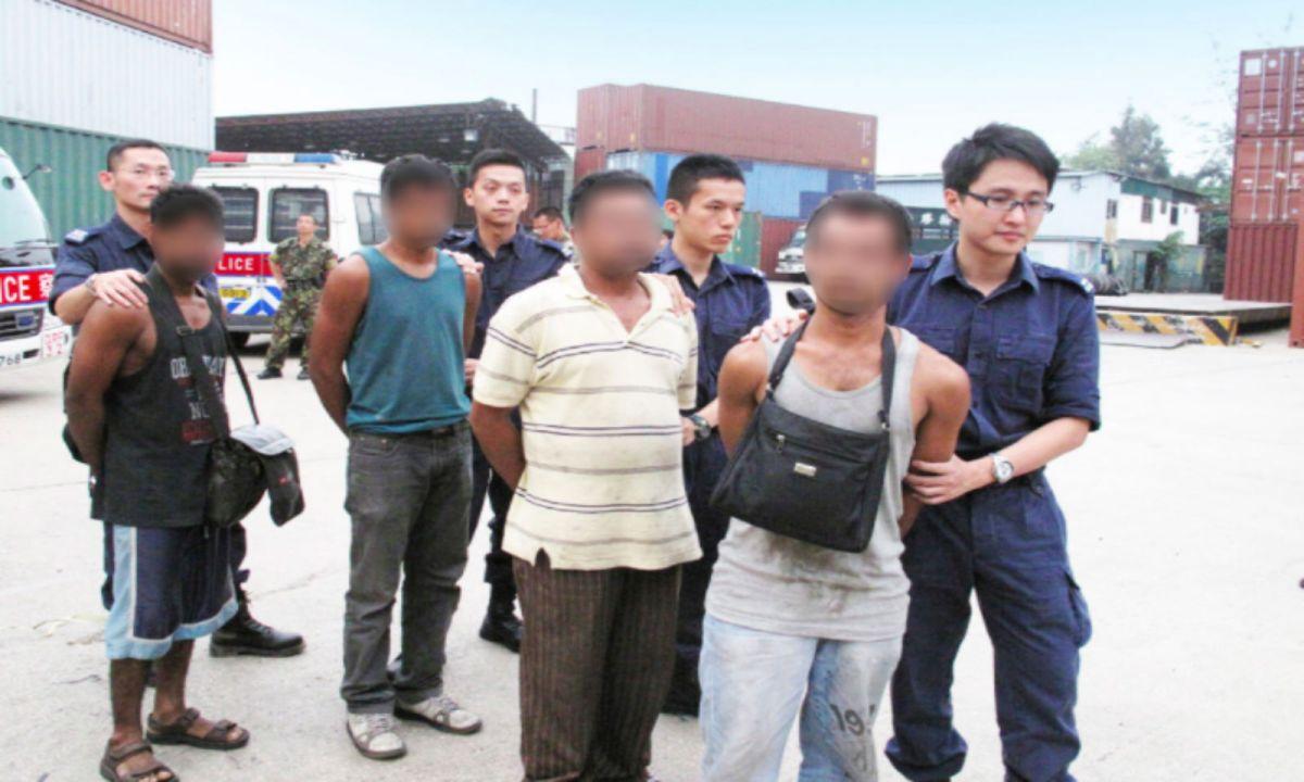 Police in Hong Kong and mainland China have been jointly tackling human smuggling. Photo: Hong Kong Government