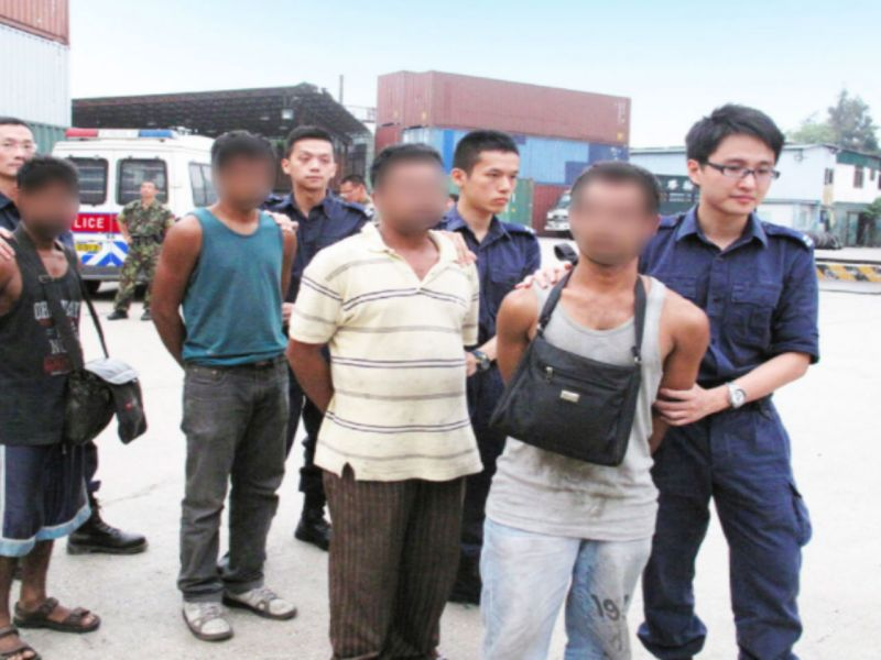 Police in Hong Kong and mainland China have been jointly tackling human smuggling. Photo: Hong Kong Government