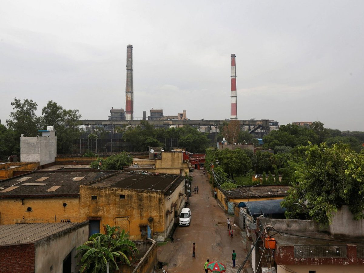 A coal-fired power plant is pictured in New Delhi, India, on July 20, 2017. Photo: Reuters / Adnan Abidi