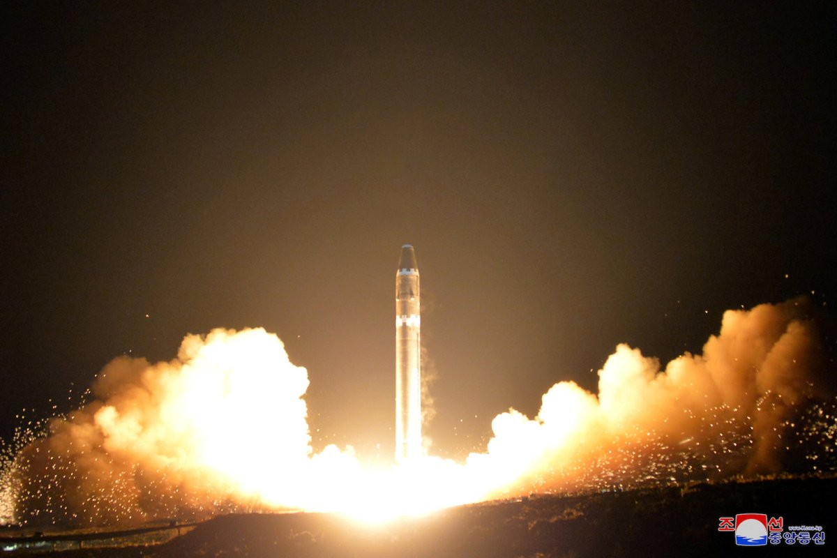 North Korea has tested a series of ICBMs in the past six months.  Photo: Reuters / KCNA