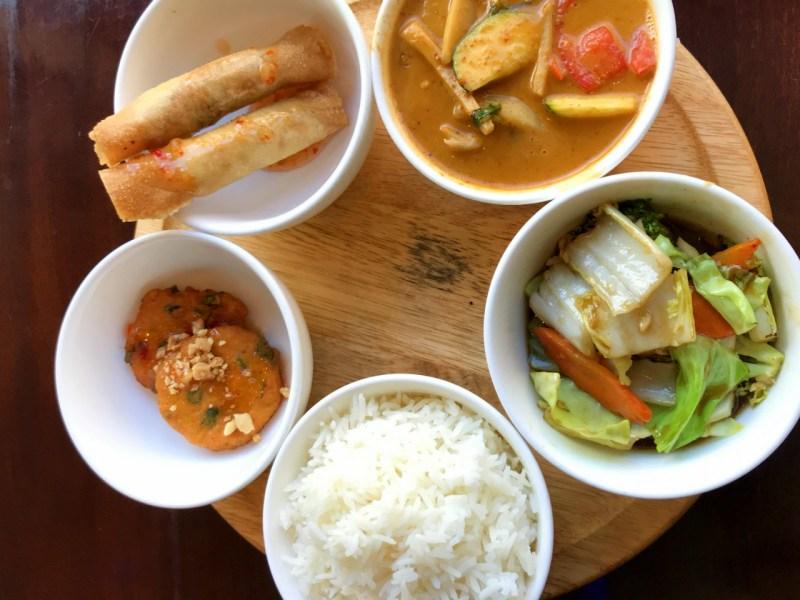 Set lunch in Nam Thai. Photo: Jennifer Wong